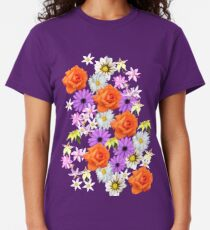 Orange Rose Classic T-Shirt