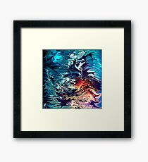 modern composition 32 by rafi talby Framed Print