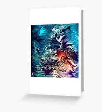 modern composition 32 by rafi talby Greeting Card