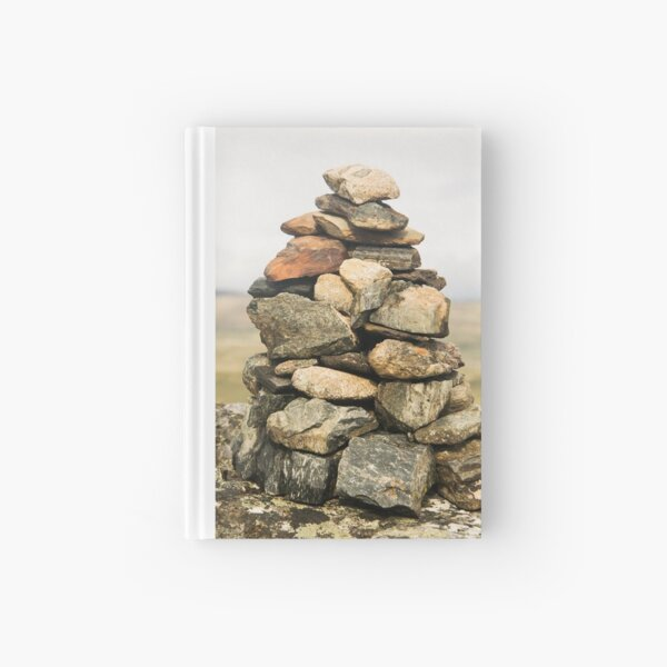 Stone Sculptures in the Mountains of Norway Hardcover Journal