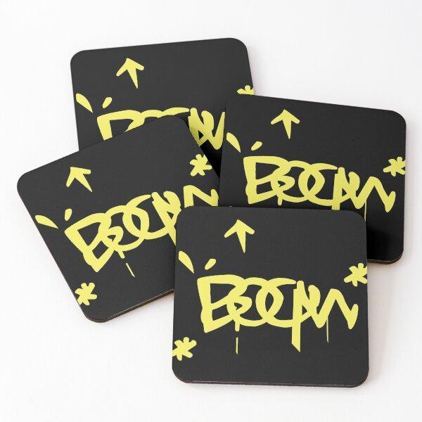 Raze Boom (Yellow) Valorant Coasters (Set of 4)