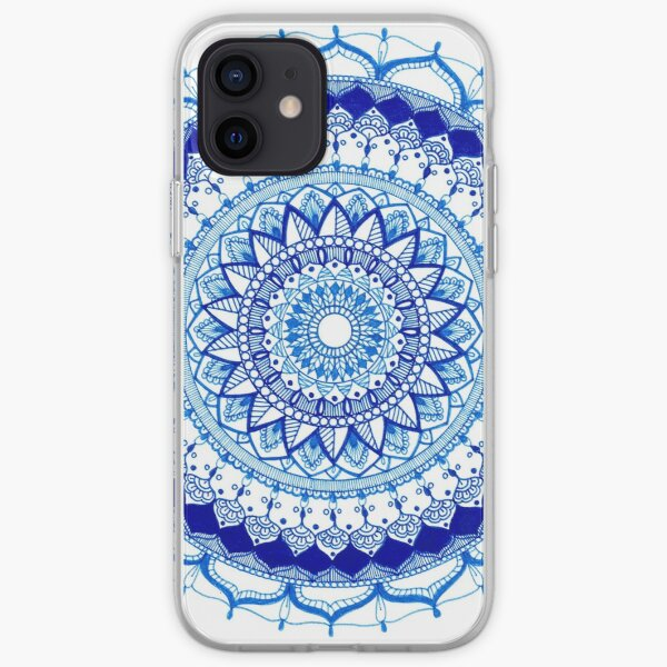 Blue Mandala iPhone Soft Case