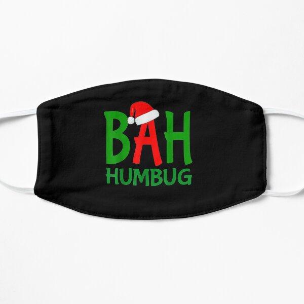 Christmas-Bah-Humbug-Ebenezer-Scrooge-Design Flat Mask