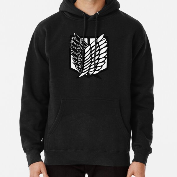 Attack On Titan Wings Of Freedom Pullover Hoodie