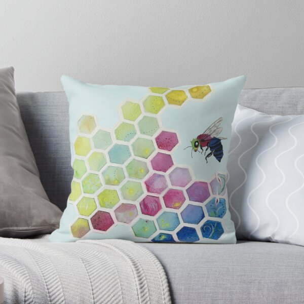 Bee You Throw Pillow
