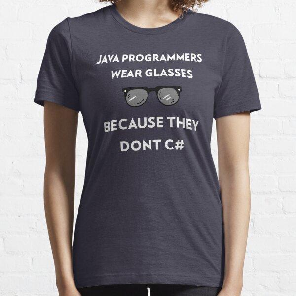 Java Programmers funny coding t-shirt Essential T-Shirt