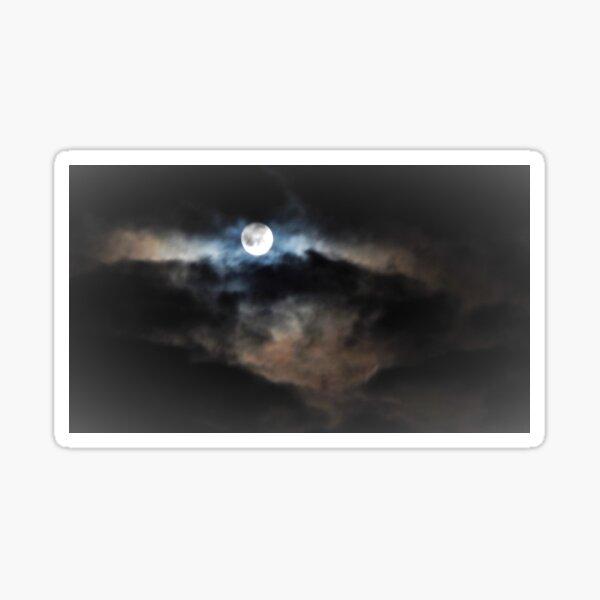 A Mysterious Moon  Sticker