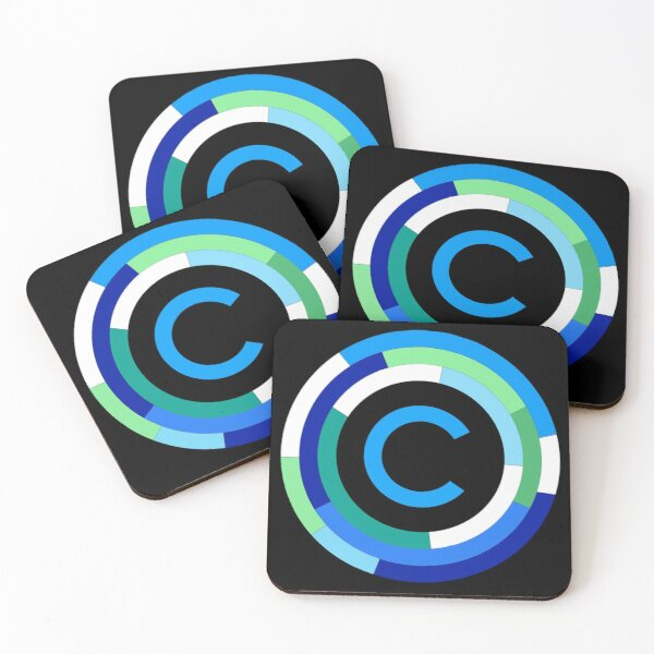Crypto-nite Coasters (Set of 4)