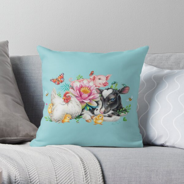 For Daphne from Maria Tiqwah Throw Pillow