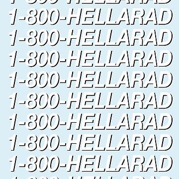 1-800-HELLARAD by fareeda