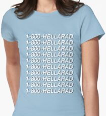 1-800-HELLARAD Women's Fitted T-Shirt