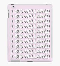1-800-HELLARAD iPad Case/Skin