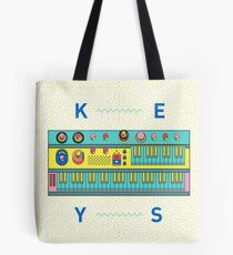 Keyboard Synth Tote Bag