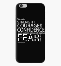 STRENGTH COURAGE CONFIDENCE iPhone Case