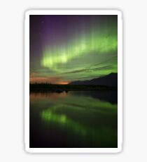 Aurora Borealis Reflections Sticker