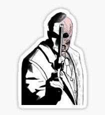 Two-Face Arkham City Sticker
