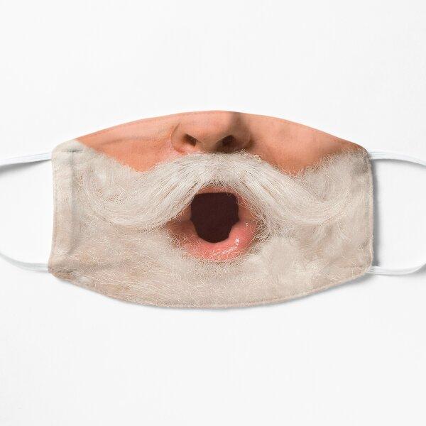 Santa Claus Real Photo Face Flat Mask