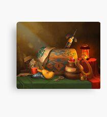 Zelda Still Life Canvas Print