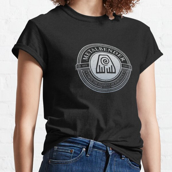 ATLA Metal Symbol: Avatar The Last Airbender-Inspired Design Classic T-Shirt