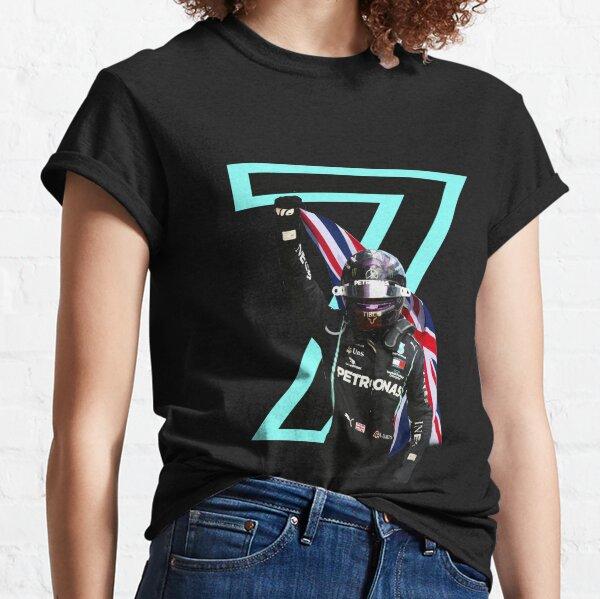 Lewis Hamilton 7 x Champion du Monde 2020 T-shirt classique