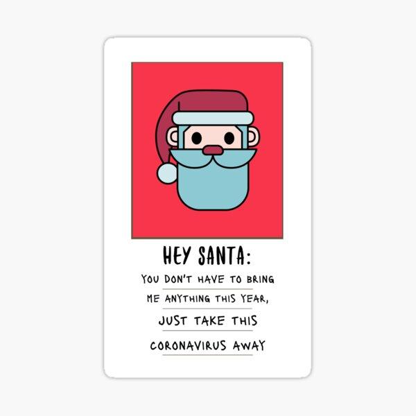 Letter to santa Sticker