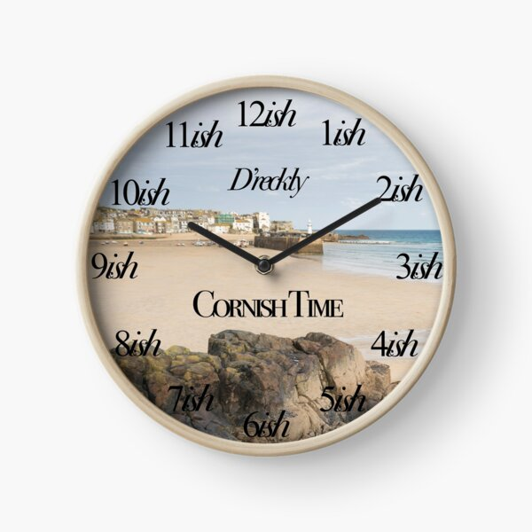 Cornish Time Clock Clock