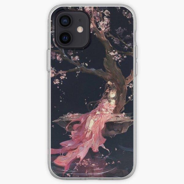 Ảnh Pintura hermosa Fundas y vinilos para dispositivos móviles Funda blanda para iPhone