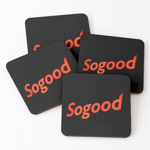 Sogood Clean cut Coasters (Set of 4)