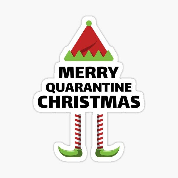 Quarantine Christmas Sticker