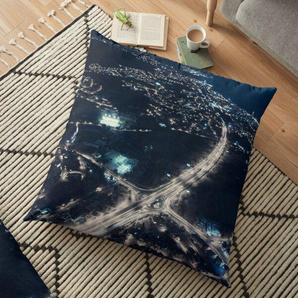 Electric Nights Floor Pillow