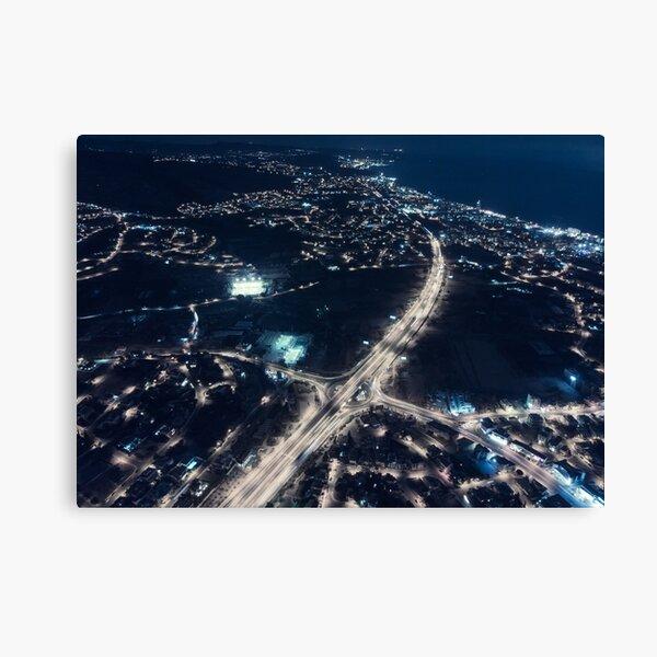 Electric Nights Canvas Print