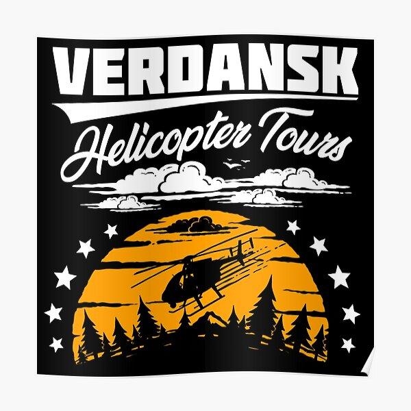 Excursiones en helicóptero Warzone / Verdansk Póster