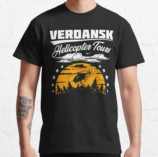 Excursiones en helicóptero Warzone / Verdansk Camiseta clásica
