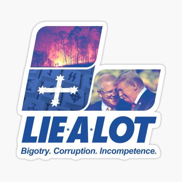 The Lie A Lot Party of Australia Sticker