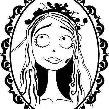 Emily - Corpse Bride by pattyjab