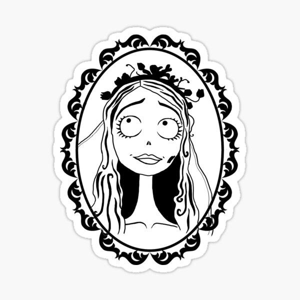 Emily - Corpse Bride Sticker