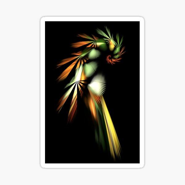 The Resplendent Quetzal Sticker