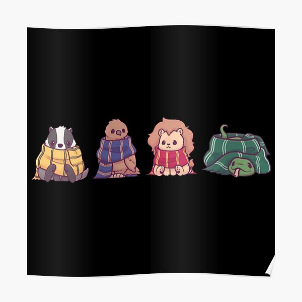 pack d'animaux magiques Poster