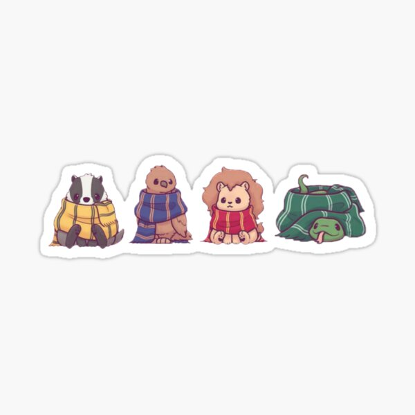 pack of magical animals Sticker