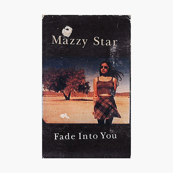 Mazzy Star Fade into you, Alternative Concert Poster Photographic Print