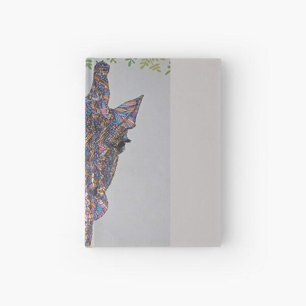 Shabby Chic Giraffe! Hardcover Journal
