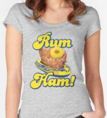 Rum Ham! (ALWAYS SUNNY) Women's Fitted Scoop T-Shirt