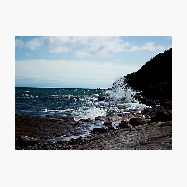 Stormy Ocean Waves Photographic Print