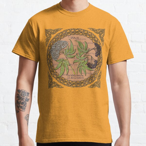 Celtic Tree Calendar Elder Classic T-Shirt
