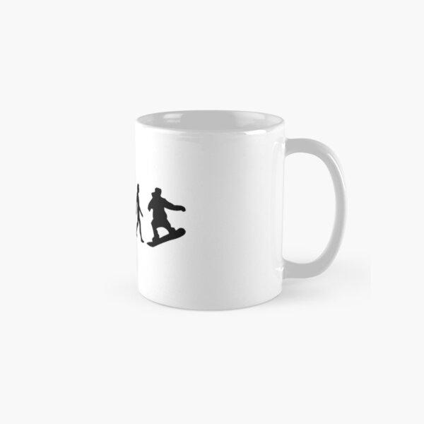 The Evolution of Snowboarding Classic Mug