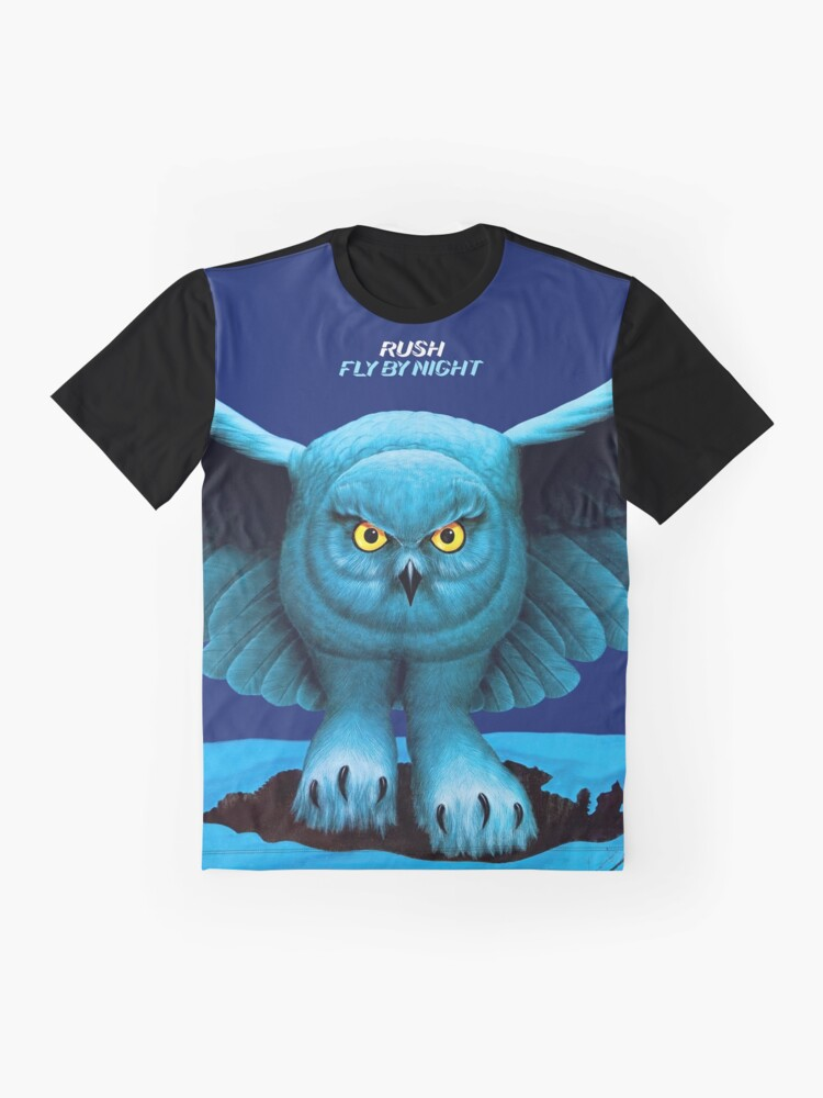 Alternate view of Fly by Night (HQ) Graphic T-Shirt