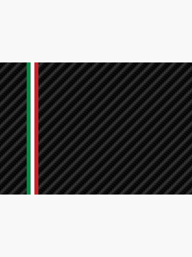 «Fibre de carbone de voiture de course italienne» par Drv-Ita-Beasts