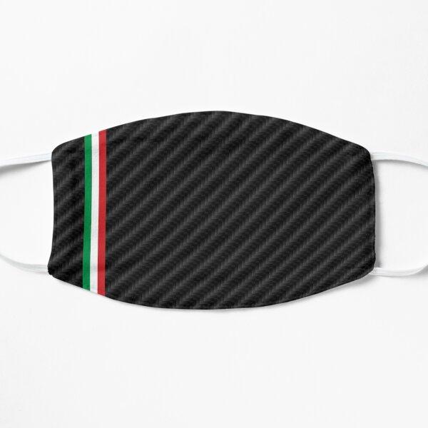 Coche de carreras italiano de fibra de carbono Mascarilla plana