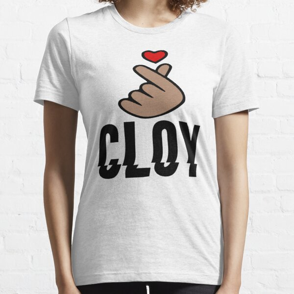 CLOY - Crash Landing On You - Finger Heart Essential T-Shirt