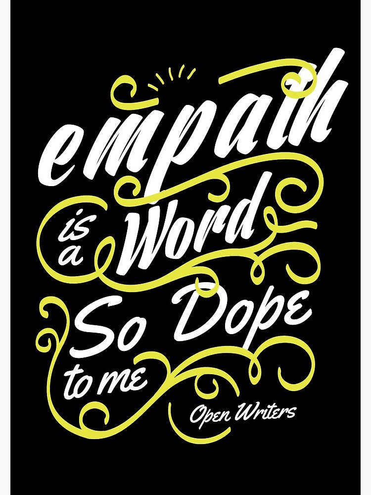 Empath is a word so dope to me by creativequeen